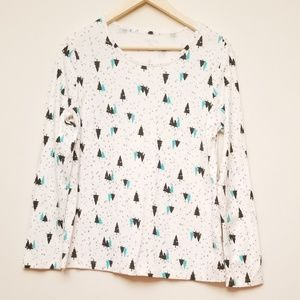 White stag long sleeve